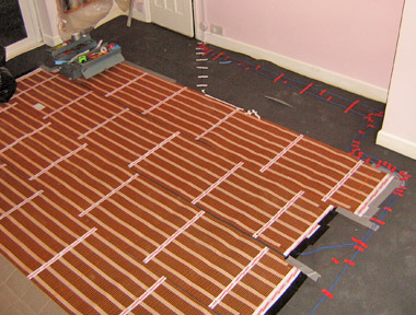 ribbon underfloor heating 3